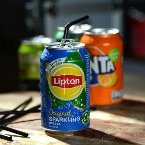 Blikje Lipton Ice Tea