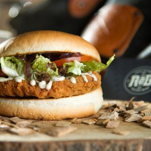 Chicken truffelburger