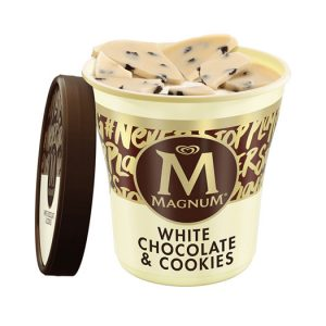 Magnum White Chocolate & Cookies 440ml